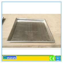 aluminum alloy perforated baking tray, flat baking tray with teflon, commercial bread trays