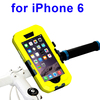 Wholesale Bike Mount Holder Waterproof Case for iPhone 6,Bike Phone Holder