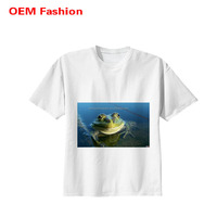 100% customized wholesale cotton blank t-shirt