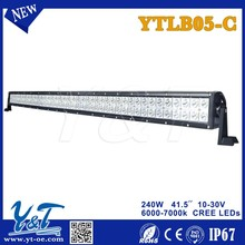 2015 Car modified parts led auto lamp bars 240w led outdoor lighting