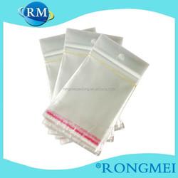 Self-adhesive OPP transparent packing plastic bag