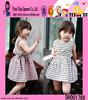 Wholesale Alibaba Children's Boutique Clothing Fashion Casual Girls Sleeveless Bandage Frocks Design
