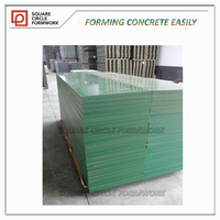 18mm Reusable(50times ) PP plastic phenolic shuttering wood for formwork board