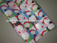 wrapping presents paper for packing ecological christmas gifts with Environmental protection