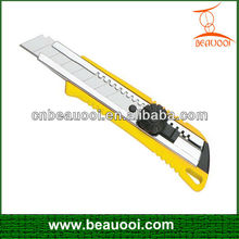 18mm hot sale assist utility knife snap-off knife box cutter small knife