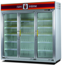 Fashional supermarket beverage display refrigerator for cheese/drink/fruit