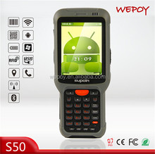 high speed big screen GPS Android os laser rugged smart phone