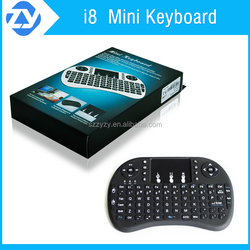 Mini key wireless keyboard Air Mouse i8 keyboard 2.4G wireless external keyboard available in long distance