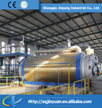 JINPENG Waste Tire Recycling Oil Machine with CE and ISO