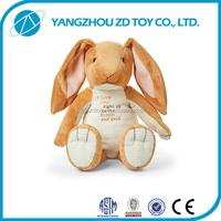 fashion new style christmas gift soft long legs rabbit plush toy