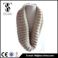 Fahion shinning watkins acrylic heavy loop scarf