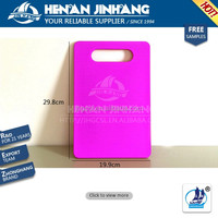 FDA approved iso certificate plastic cutting board in china