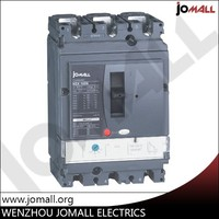 wenzhou hot sale in alibaba new type Jomall 3 phese100Amp 220V 3 pole 4 pole mccb electrical moulded case circuit breaker