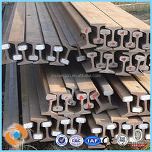 used steel rail railway track