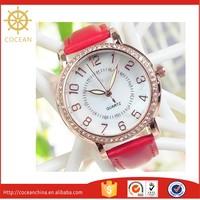 Hot Sale! Diamond Wrist Fashion Japan Movt New Times Quartz Ladies Watch
