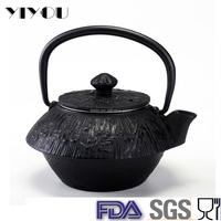 Japanese cast iron teapot, tea set