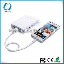 Dual USB Output 6600mAh External Power Bank For Nokia,Motorola,MP3,PSP