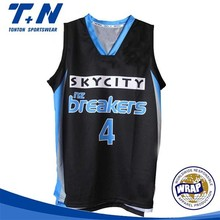 2015 new latest design sublimation custom basketball jersey