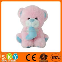 custom teddy bear stuffed toy plush sitting toy