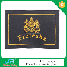 self adhesive garment clothing woven patch wholesale
