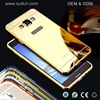 Waterproof hard pc material cell phone case cover for samsung galaxy s3 s4 s5 s6 s6 edge note 2 3 4 mirror case