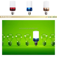 Audio bulb speaker electronic gadgets new for 2015