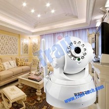 New Wireless IP Internet Camera Wanscam JW0008 Dual Audio Recordable Wifi Infrared 10 LED IR Night Vision