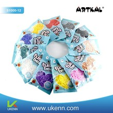 ARTKAL heating beads 1, 000 pcs/ bag/color diy toy kits for handmade jewelry kits