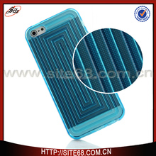 Custom made sublimation tpu cell phone case for iphone 5 case cover tpu