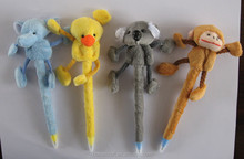 Plush animal character pen