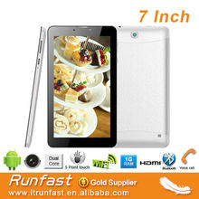 dual core 3g tablets that uses sim card with dual core MTK8312