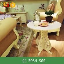 Mobiliario para el hogar personalizado barroco mesa plegable para el balcón