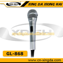 GL-868 Professional Handheld Wired Microphone low price factory sales