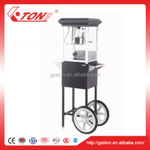 220v Automatic Popcorn Maker with Cart
