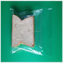 Hot sale packing bag biogradable plastic clear sandwich bags/food usage