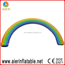 Rainbow inflatable advertising archway wedding arch for sale