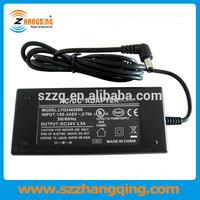 Desktop Switching AC Adapter 24V 60W power supply, the 24 volt 60 watt power adapter input 100~240v ac 50/60hz