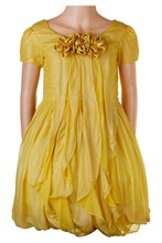 Girls Multi-layer Formal Dress with Beads