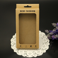 Retro Kraft Paper Packaging Commonly Used Box for iPhone 6 Phone Cover Case