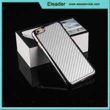 For iphone 6 chrome carbon fiber case
