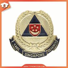 2015 free artwork customized pin badge