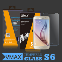 Handphone accessories 2015 !! anti burst screen protector for samsung galaxy s6 tempered glass screen protector