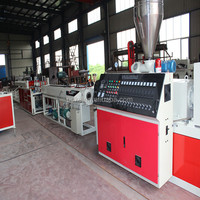 factory price pvc water pipe making machine