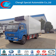 Vegetables freezer truck 4X2 refrigerator truck frozen lorry -18 degree chilled truck fresh cooling china container cold room