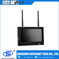 "Promotion SKY-702 5.8G 32ch 7""inch lcd monitor composite video input"
