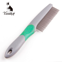 Yangzhou yingte high quality stainless steel pet dog pin massage comb