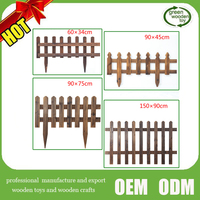 2016 wood garden fence,decorative garden fence,cheap wood fence