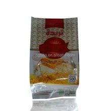 factory printed aluminum foil ziplock stand up plastic bag for food/tea packing