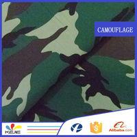 polyester/cotton 80/20waterproof camouflage swimwear fabric
