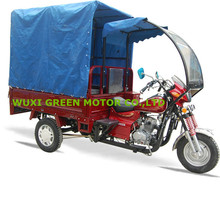 three wheel motorcycle 150cc 200cc passenger tricycle motorised tricycle
